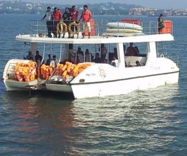 yacht hire in Goa