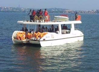 Corporate yacht party in Goa